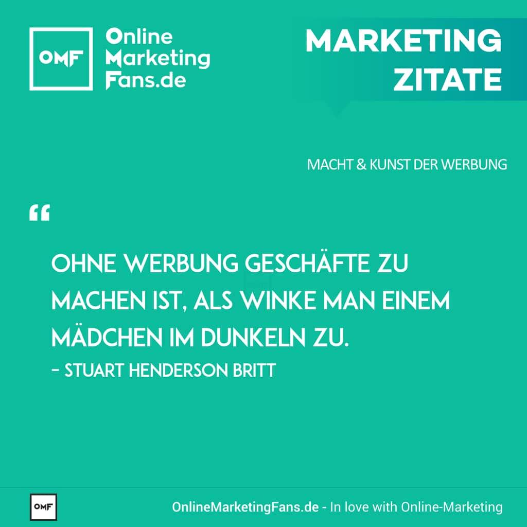 Marketing Zitate Sprueche - Stuart Henderson Britt - Werbung und Frauen - Macht der Werbung