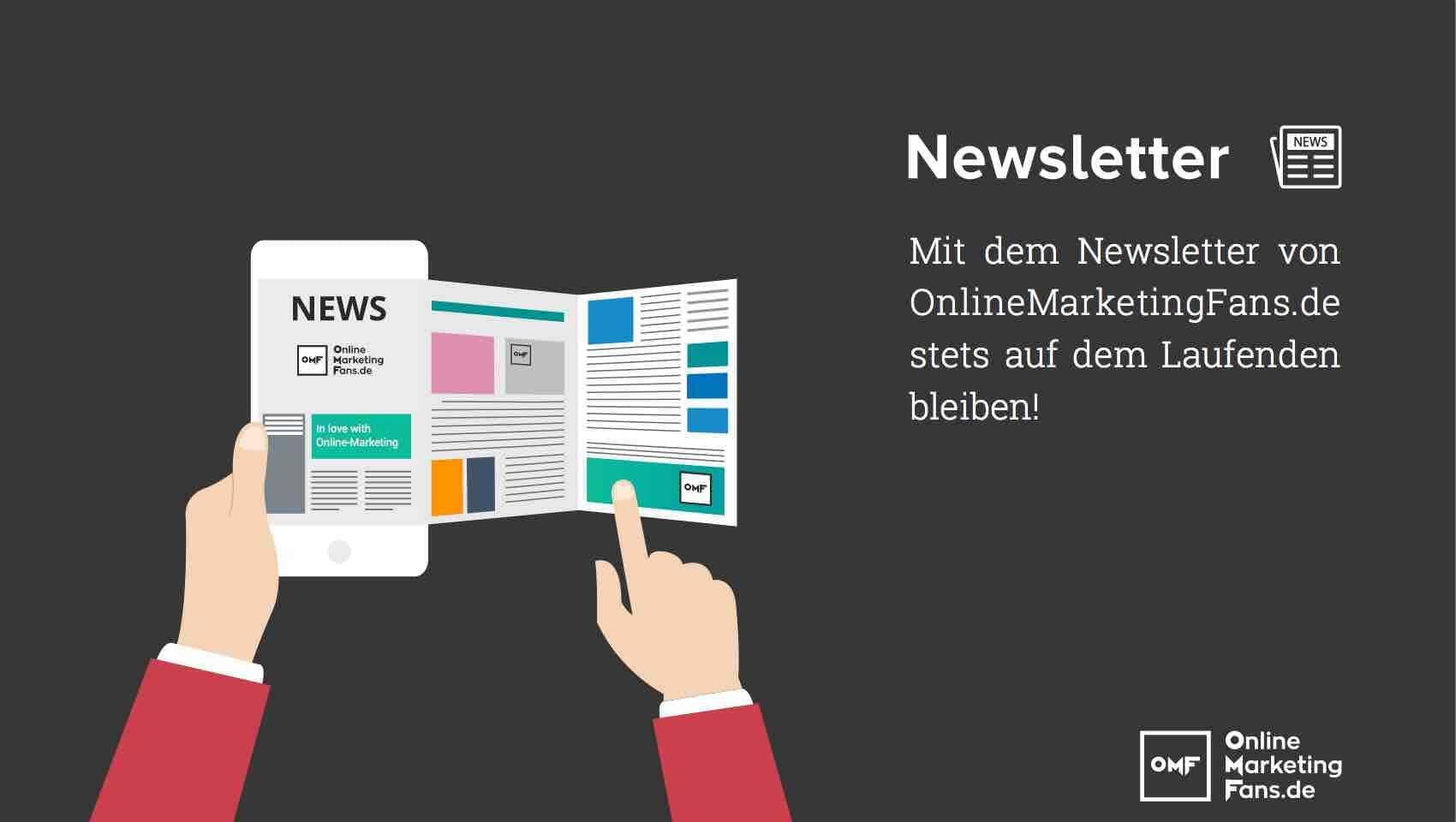 Newsletter Abo - Bild OnlineMarketingFans.de