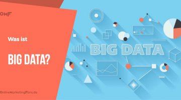 Big Data – Erklaerung