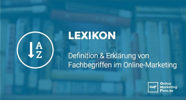 Marketing Lexikon Deutsch