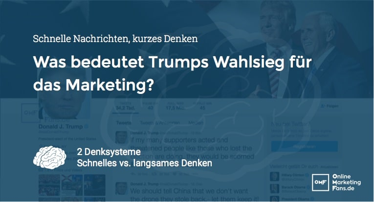 Trumps Marketing Strategie - Neuromarketing