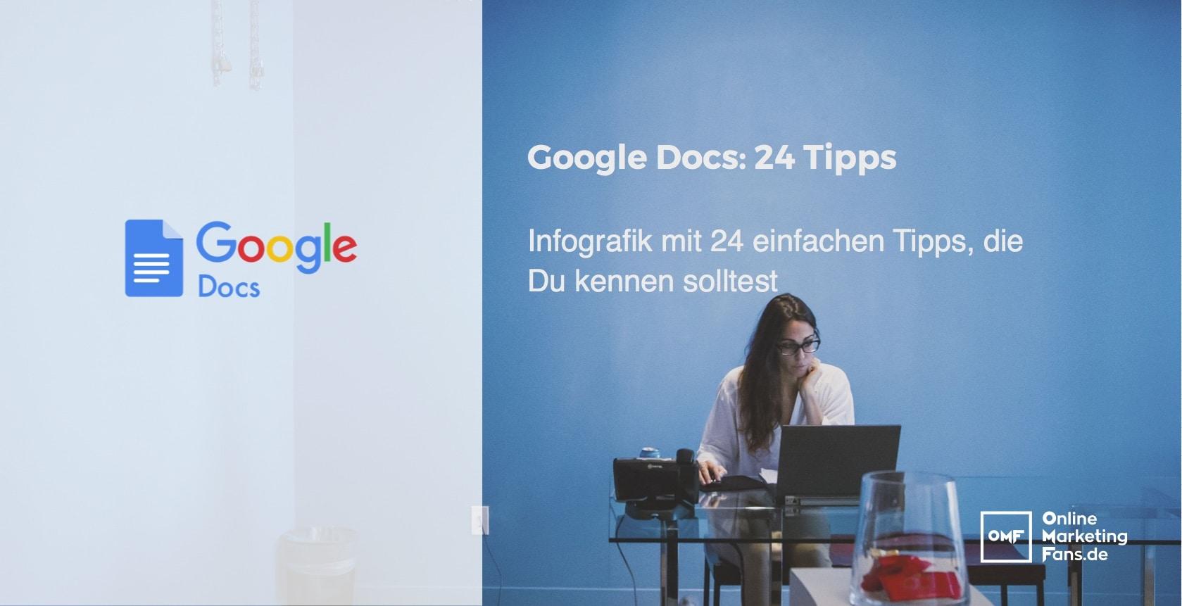 Google Docs 24 Tipps