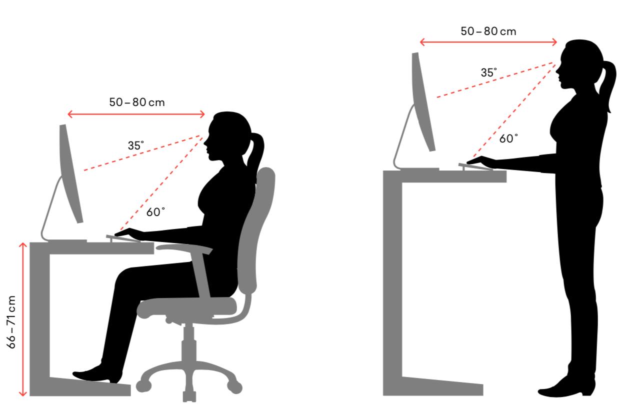 Ergonomischer-Arbeitsplatz-Richtig-Sitzen-Stehen